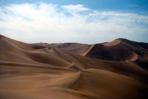 مرتفع ترین تپه های ماسه ای جهان