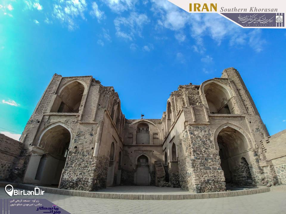 مسجد تاریخی افین