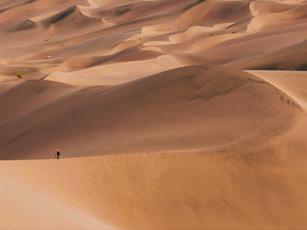 مرتفع ترین هرم ماسه ای کره زمین